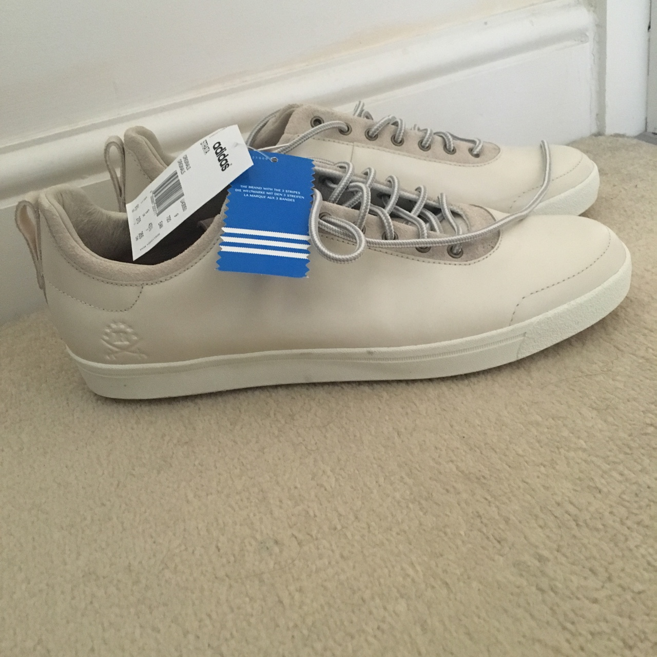 Adidas Ransom Trainers - Creme colour