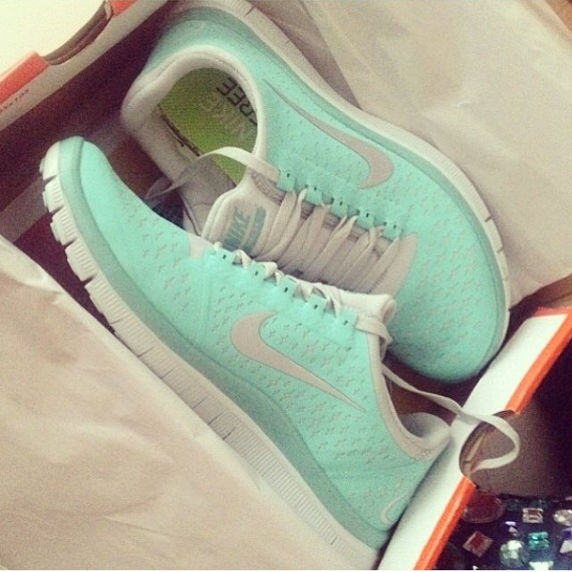 c80c47429803 MIGHT sell these tiffany blue nike free runs • if the price - Depop