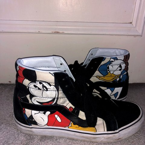 702a19e2642 Genuine DISNEY X VANS SK8-HI SHOES Mickey and Friends
