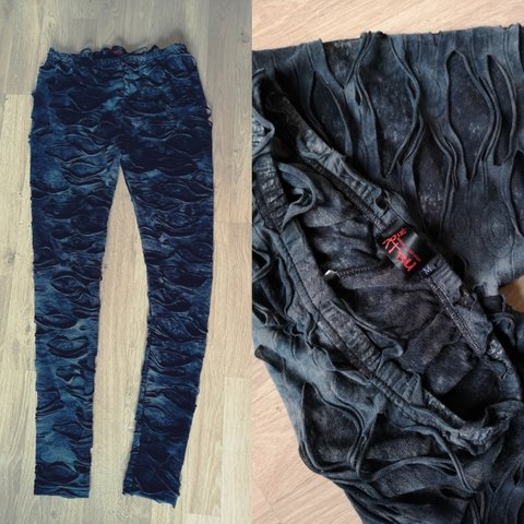 5c1d841da3d Refuse To Be Usual grey destroyed leggings. I love these