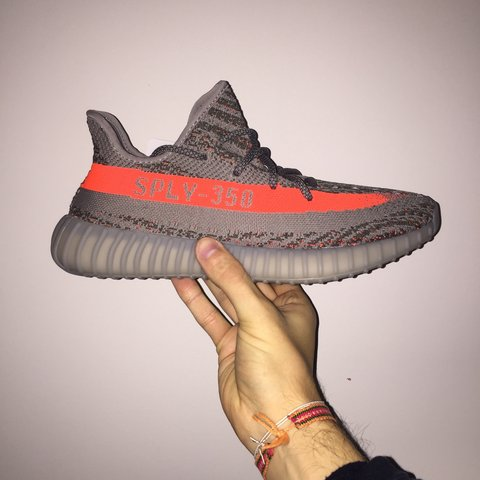 f06d4f9305f SOLD ON EBAY  Adidas Yeezy Boost 350 V2 Stegry Beluga Red. - Depop