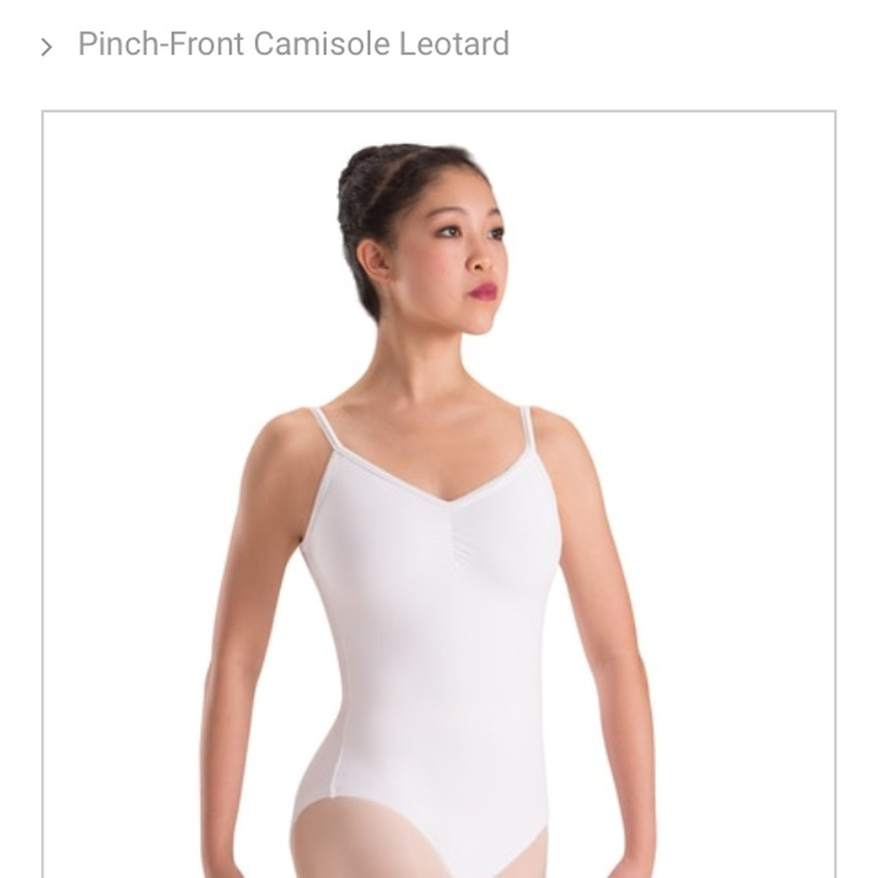 153eb3a27 Motionwear dance leotard. Worn once. Lined and has pinched - Depop