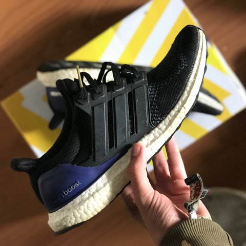 b1450de9 Ultra boost 1.0 og uk size 8 these are beat ! There is a £ - Depop