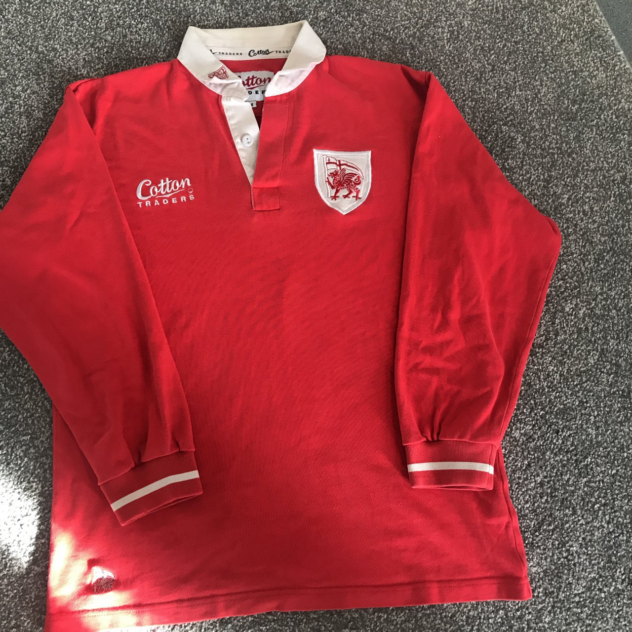 e6d273a3200 Cotton Traders Wales Rugby Shirts | Top Mode Depot