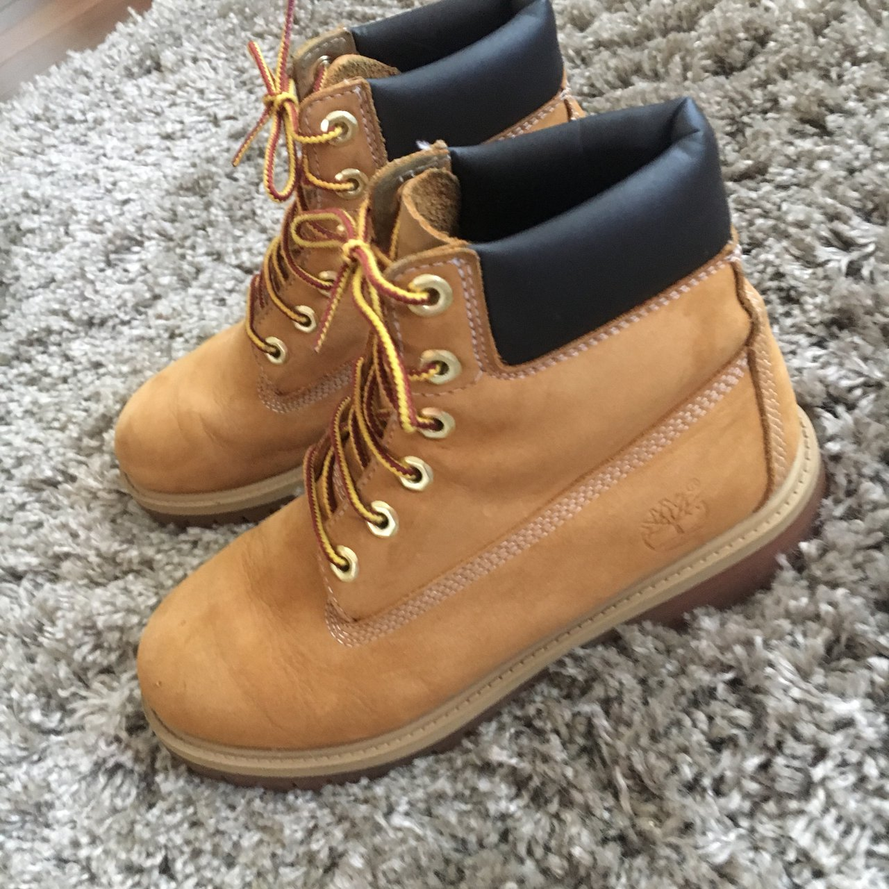 Genuine timberland boots. Worn a handful of times but in No - Depop b514df7c521b