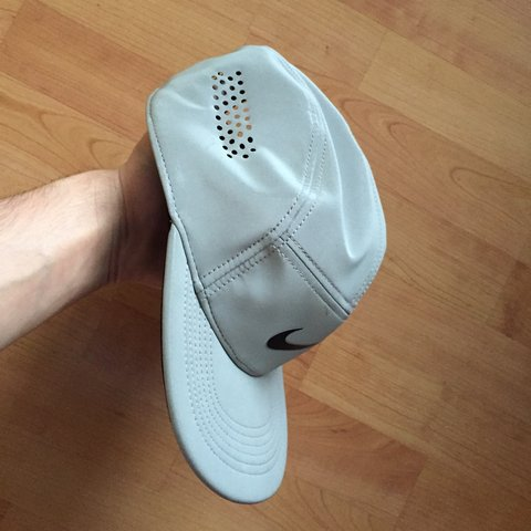 90a7633f81868 Nike AW84 Flash Cap - 5 panel - Sold out!! Fully reflective - Depop