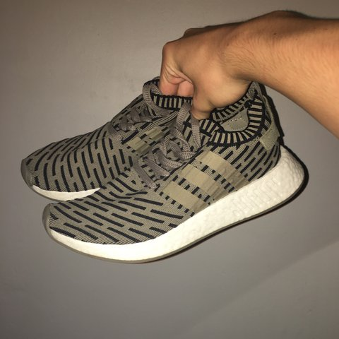 buy online adea6 8e3d8  patrick1997. last year. Chester, UK. Adidas originals NMD R2 olive green  ...
