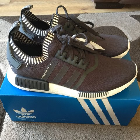 9616fd874 ADIDAS NMD R1 PK JAPAN GREY SIZE 10. RARE AND DEADSTOCK. ME. - Depop