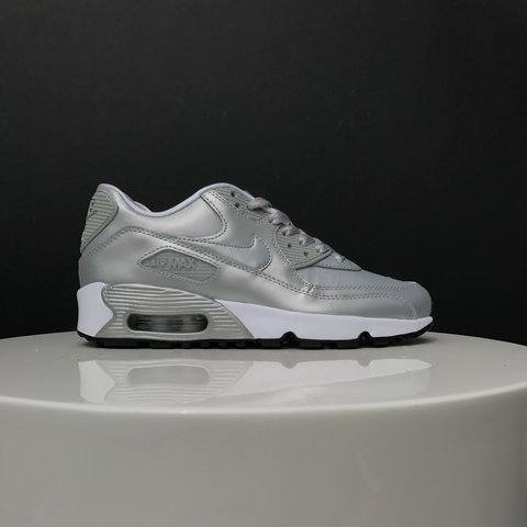e46bcb785 Nike air max 90 SE metallic silver , brand new never used . - Depop