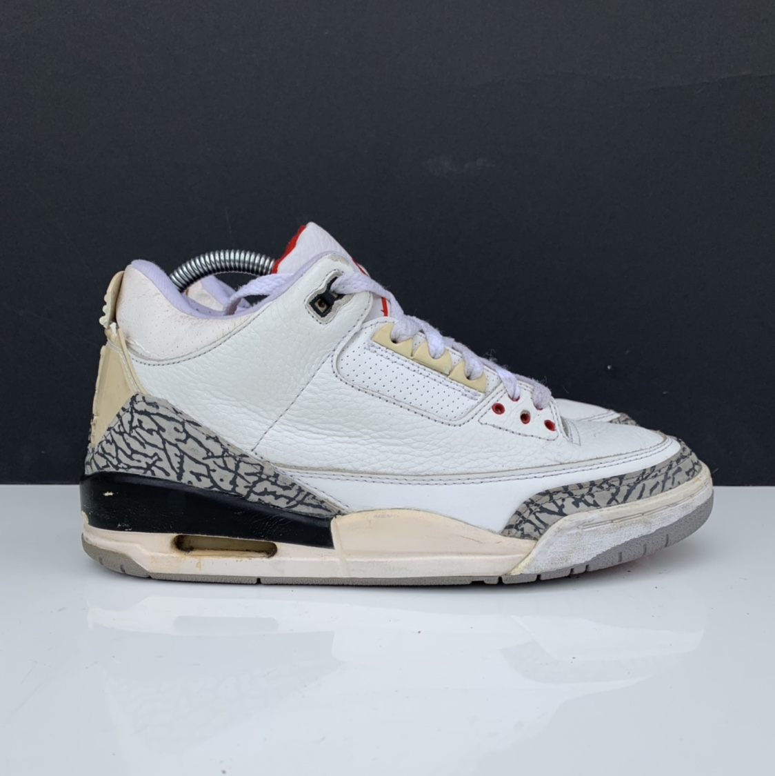 super popular 61516 82037 Nike Air Jordan 3 cement , year 2003 . fully... - Depop