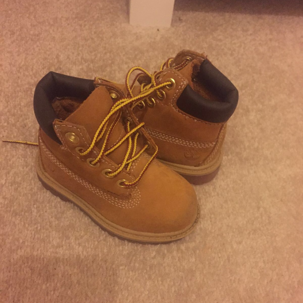 Baby girls timberland boots size 4
