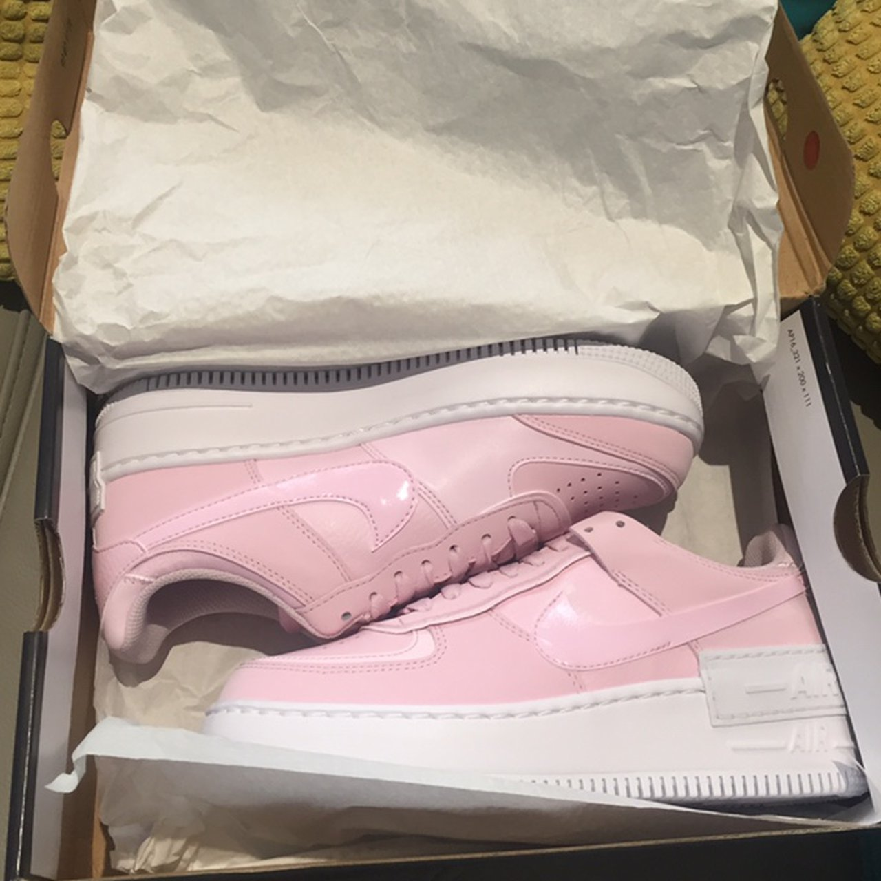 Nike Air Force 1 Shadow In Pink Foam Brand New Depop