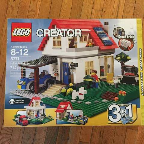 Lego Creator Hillside House Brand New In Box Excellent Never Depop