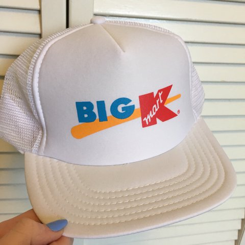 0ce7745008a1e Vintage novelty Kmart trucker hat! These were an exclusive • - Depop