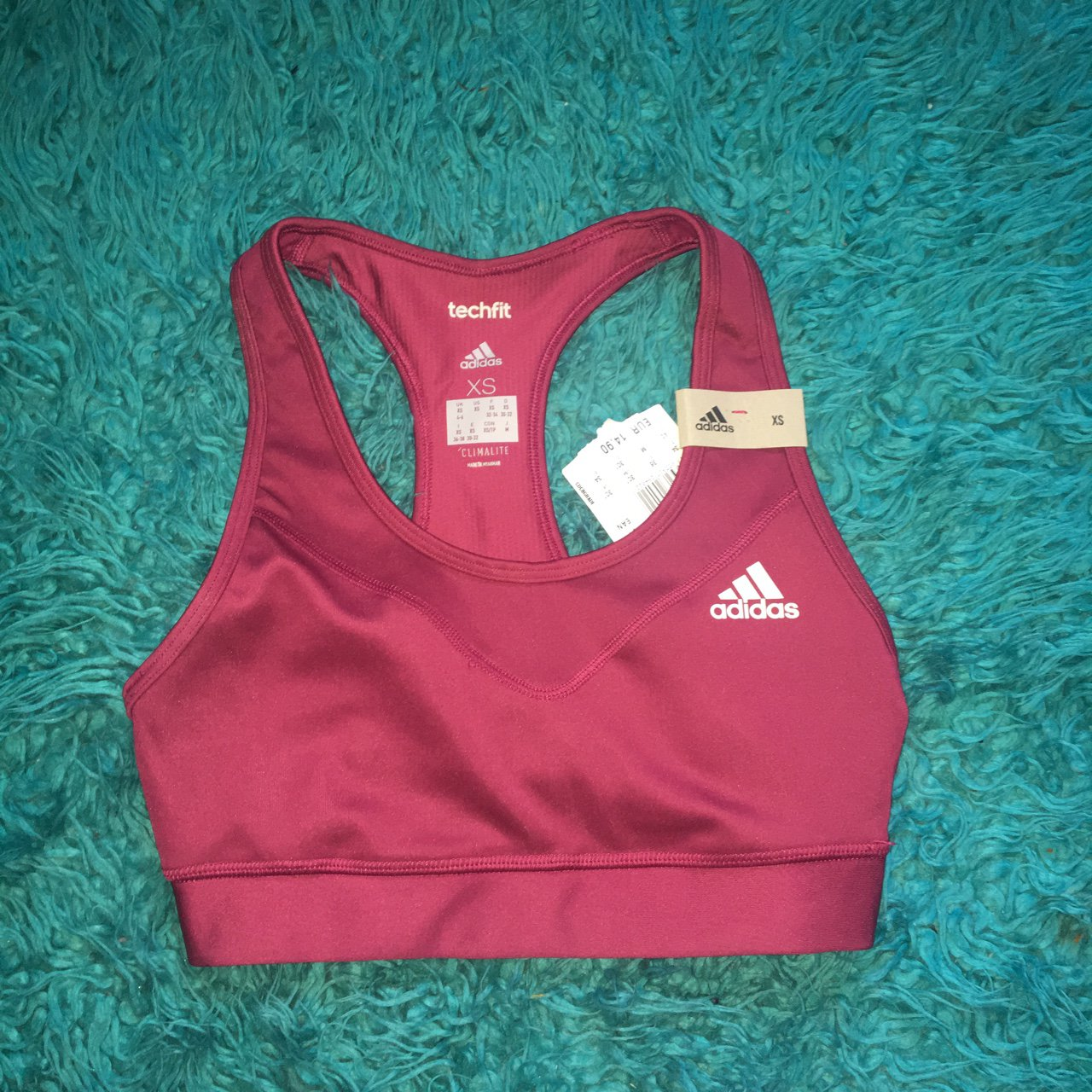 40d5be751e7a1 Adidas sports bra swimwear brand new never used as it s too - Depop