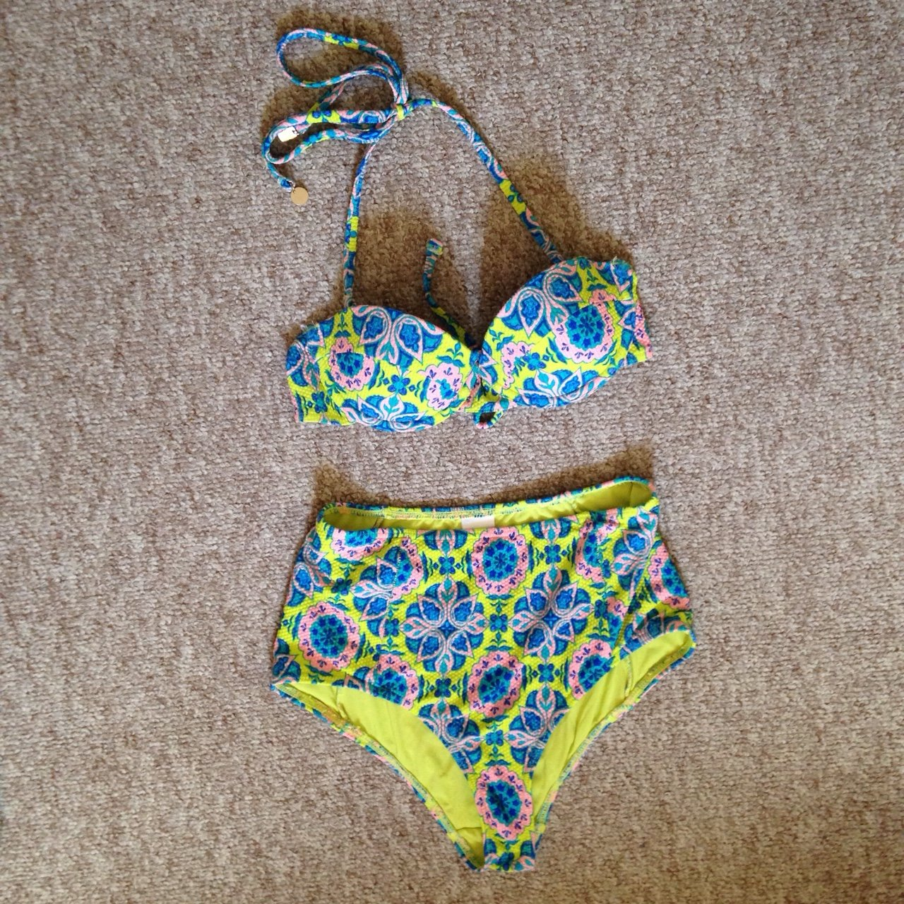 3e0852c0effbd Topshop high waisted bikini set. Only worn once or twice
