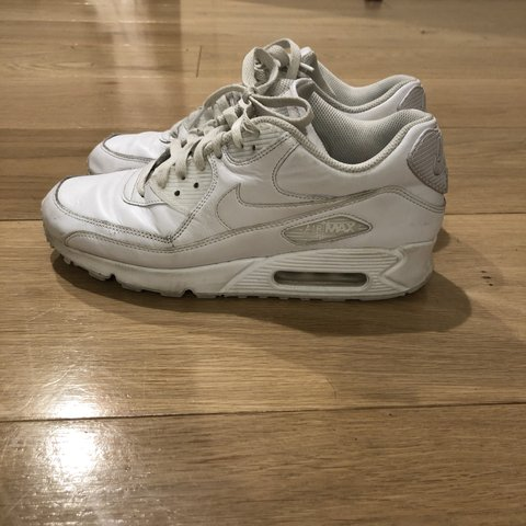 600ae5f136290 amazing white leather Nike Air Max 90 s! these in great and - Depop
