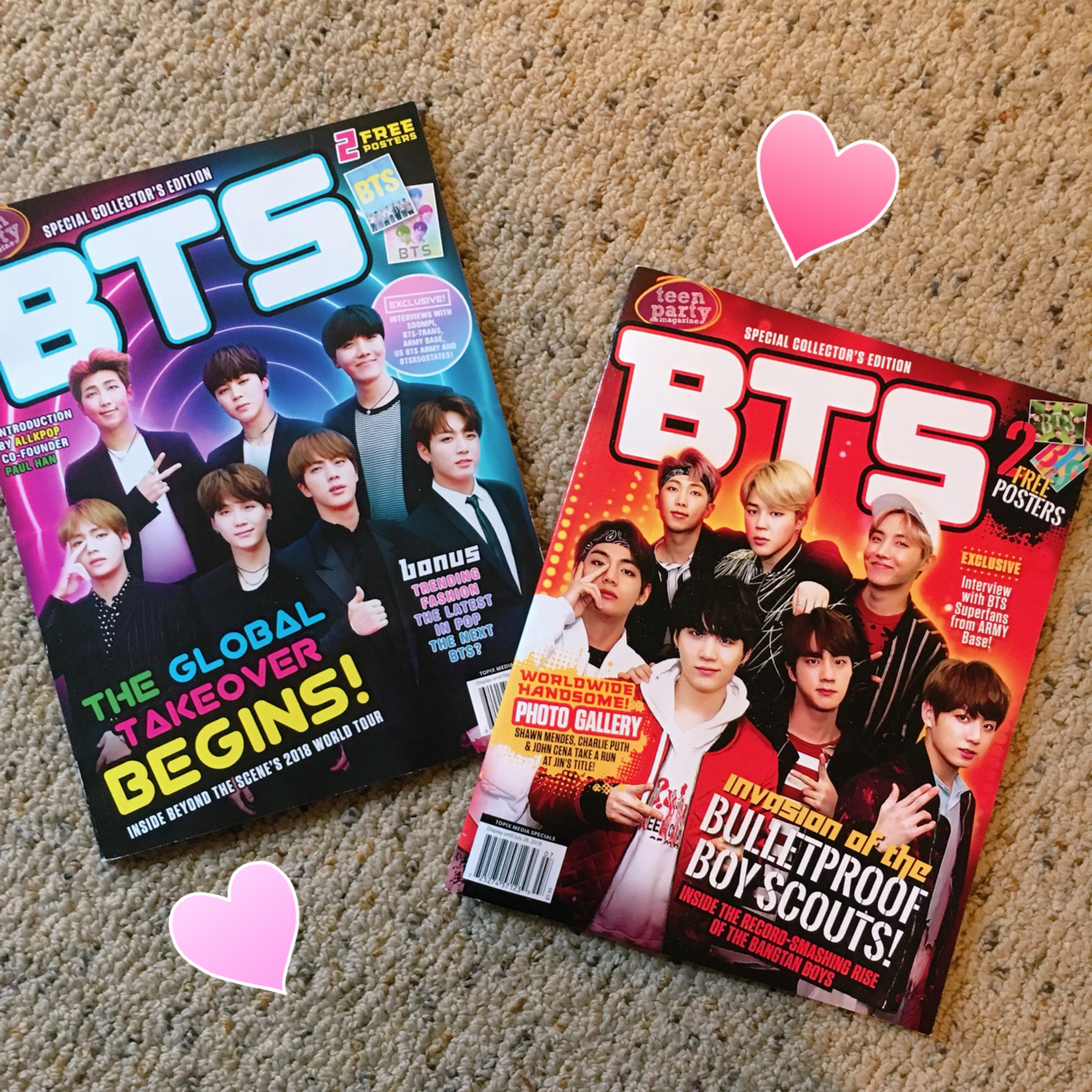 bts collectors magazines! $8 each💫❤️ tags: bts army