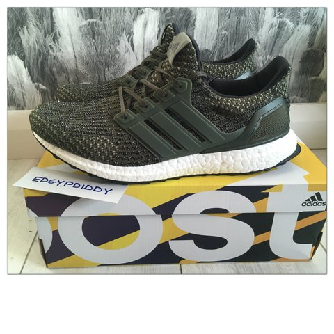 a0237404962d2 ADIDAS ULTRA BOOST LTD OLIVE TRACE   REMAIN IN EXCELLENT ANY - Depop