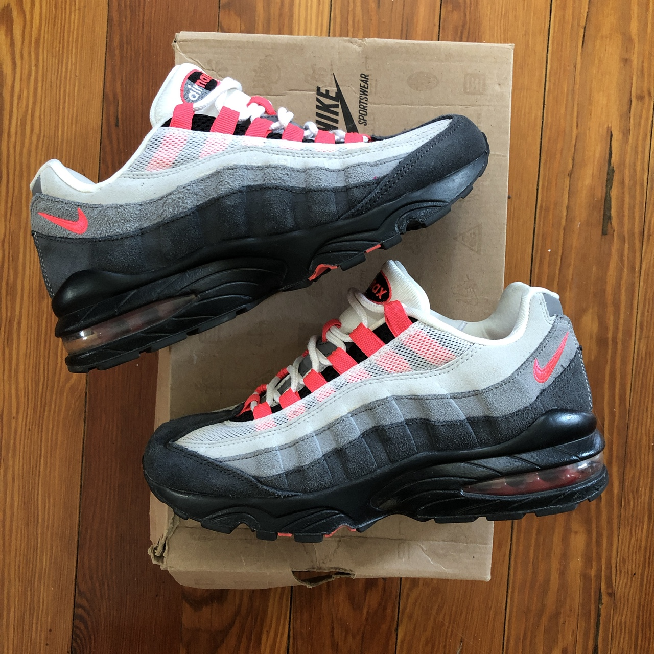2012 Nike Air Max 95 , Gradeschool size 5.5Y which is...