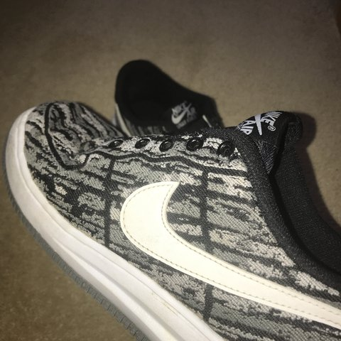 best sneakers 4b8cc a0367  alistairwatts. last year. Glasgow, United Kingdom. Nike Air Force   lunar  force 1 jacquard pack black white ...