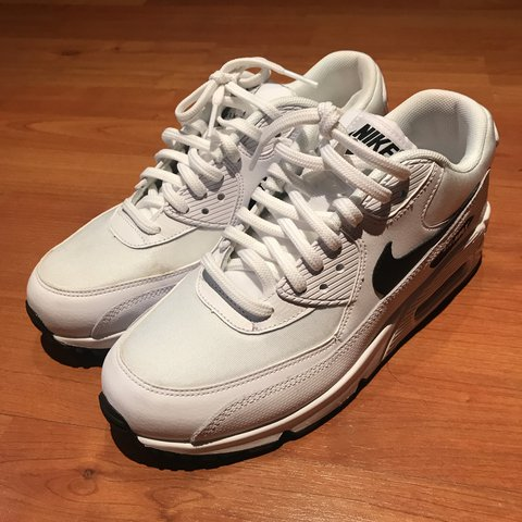 04cbd43ce9 @baconleila. 6 hours ago. London, United Kingdom. Nike Air Max 90 white  with black tick.