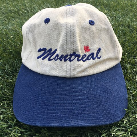 Montreal Dad hat. Adjustable strap. Fits a lil small. Lil on - Depop 7fc5e47f5ae7