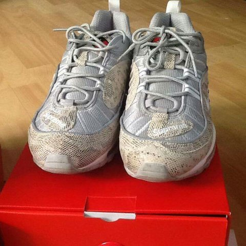 check out 215af 44a57 SUPREME X NIKE AIR MAX 98 SNAKESKIN UK8 Quick sale please, 2 - Depop