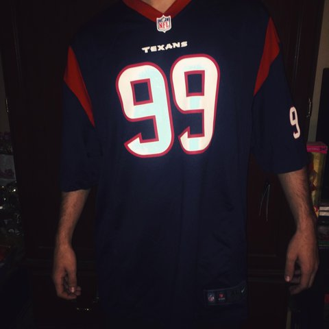1c15d093ef5 ... houston texans xl jersey cf15d 57697; ireland nwt nike team replica jj  watt nfl jersey99 for the texans depop 5d233 3a856