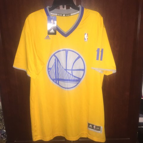 4f6ce99a44d NWT Adidas swingman Klay Thompson Golden State Warriors with - Depop