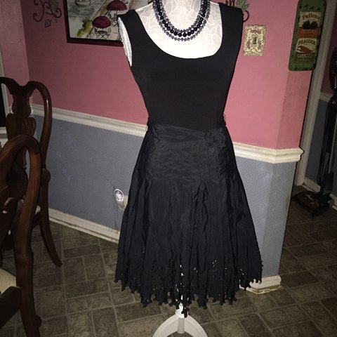 d10ba0a3e8d Beautiful Antonio Melani black formal dress with sleeveless - Depop