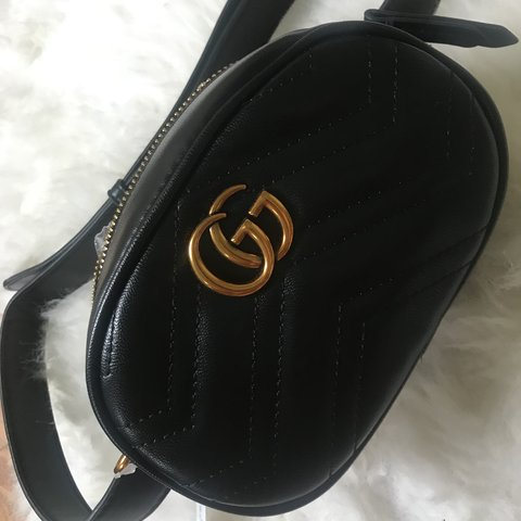 a53960e2293 Gucci style bum bag brand new never used also comes with - Depop
