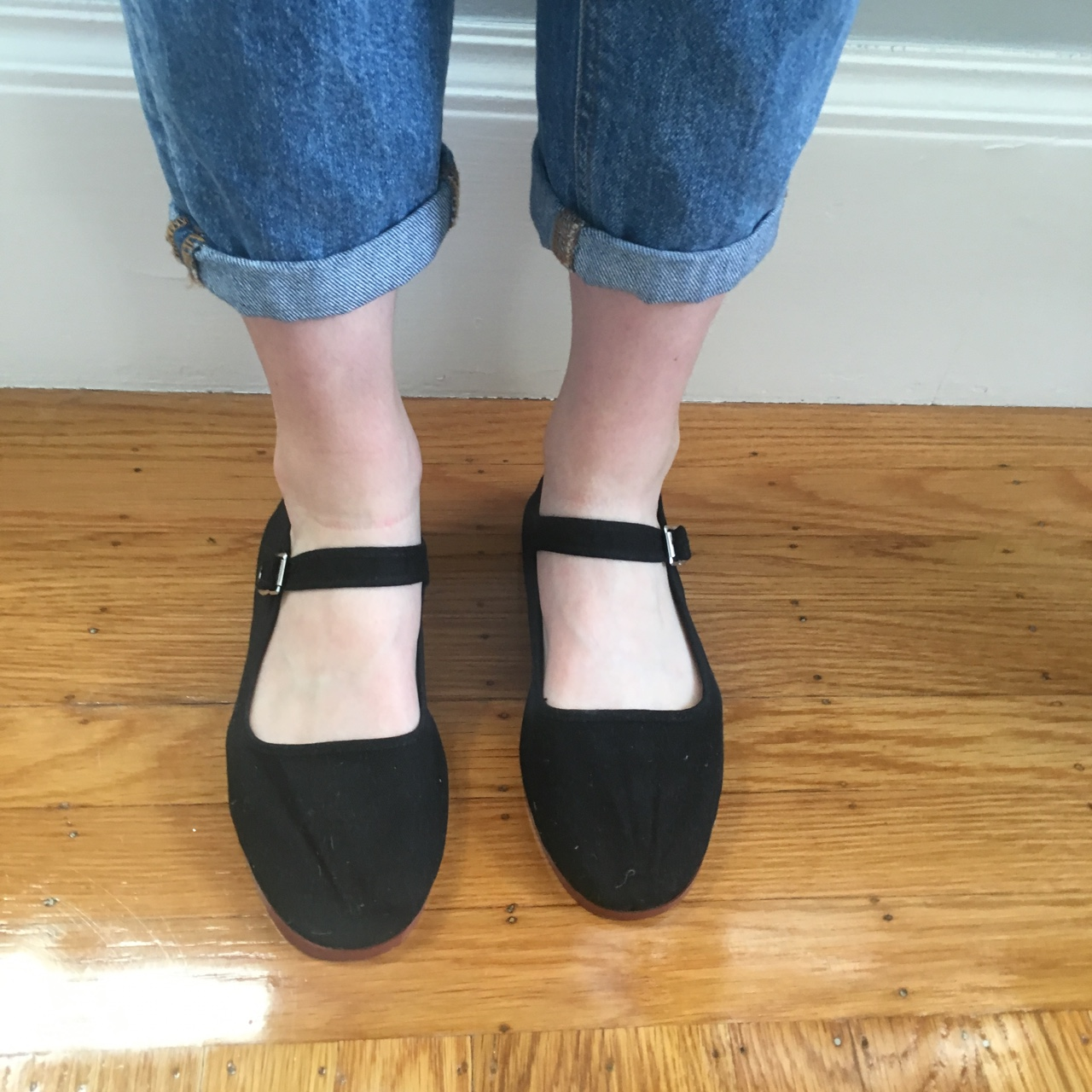 Mary Jane Flat Shoes From Urban Outfitters No Depop