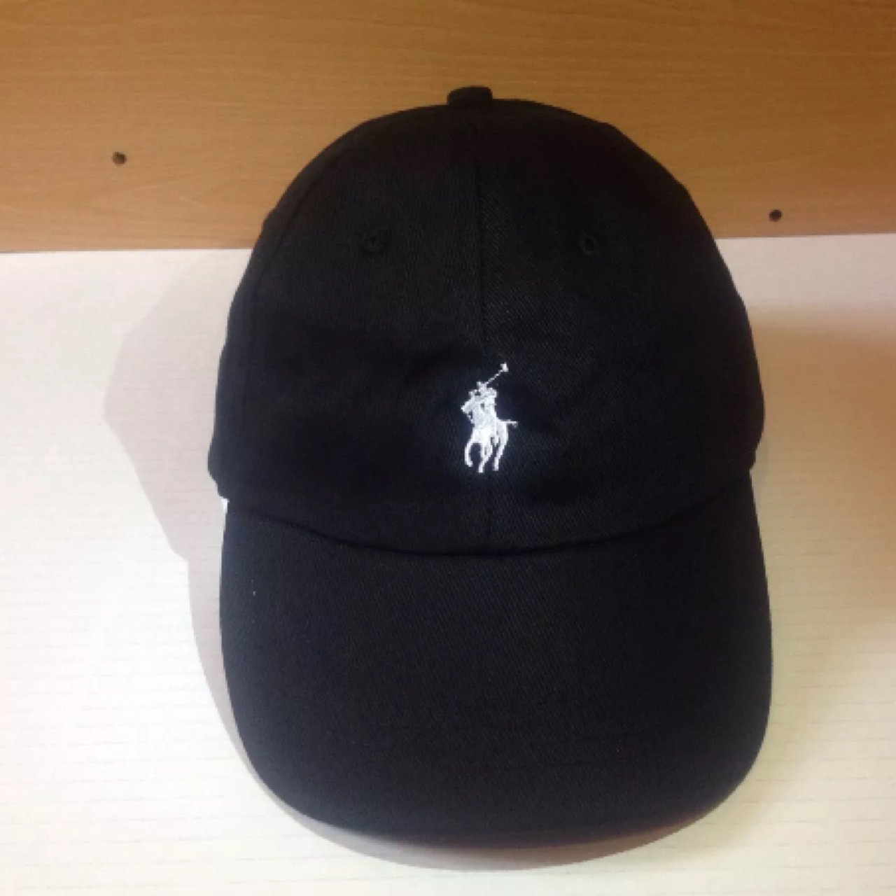 Black Ralph Lauren polo hat cap with white horse good apart - Depop 4feda2c037d