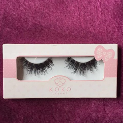 07362917bb2 Brand new Koko Lashes in the style Risque. Been in my makeup - Depop