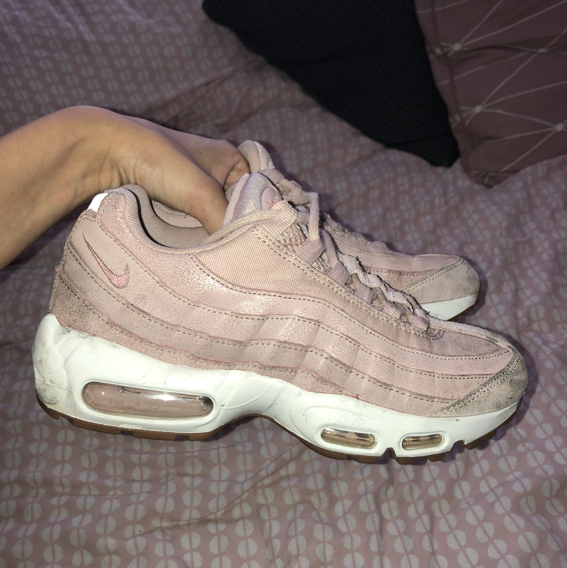 Women's Nike Air Max 95 in Pink. Size 6