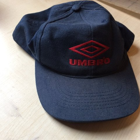 eeead40b19deca Vintage Umbro cap with snap back - Depop