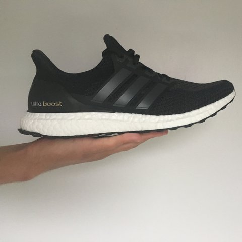 8cd602aba19 Adidas Ultra Boost 2.0 Triple Black SOLD OUT Size UK 11. - Depop