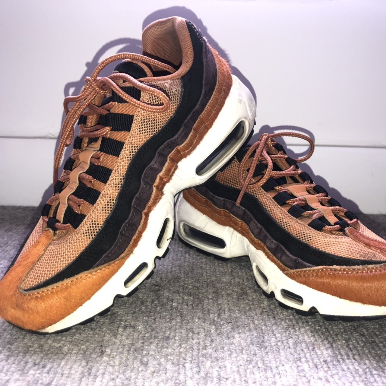 NIKE AIR MAX 95 PONY HAIR TRAINERS SIZE