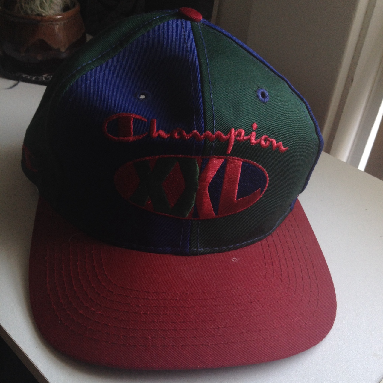 AUTHENTIC/ OG CHAMPION XXL RED/BLUE/ GREEN