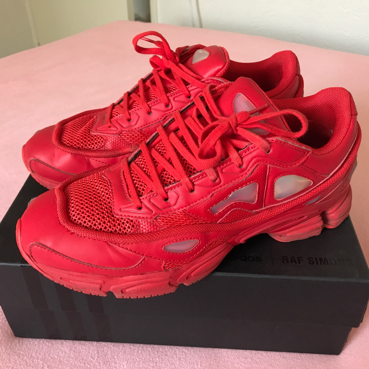 Raf Simons Ozweego 2 RED. NOT trying to