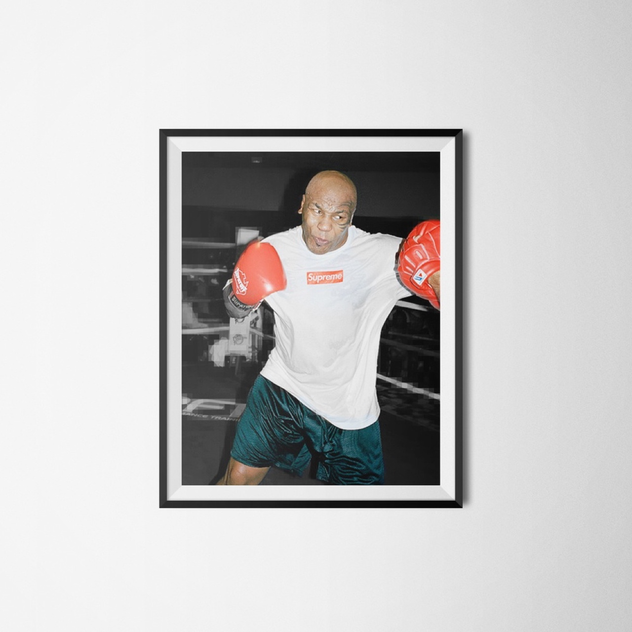 Mike Tyson X Supreme A3 Poster Great Quality Would Depop