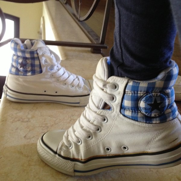 converse all star a quadretti
