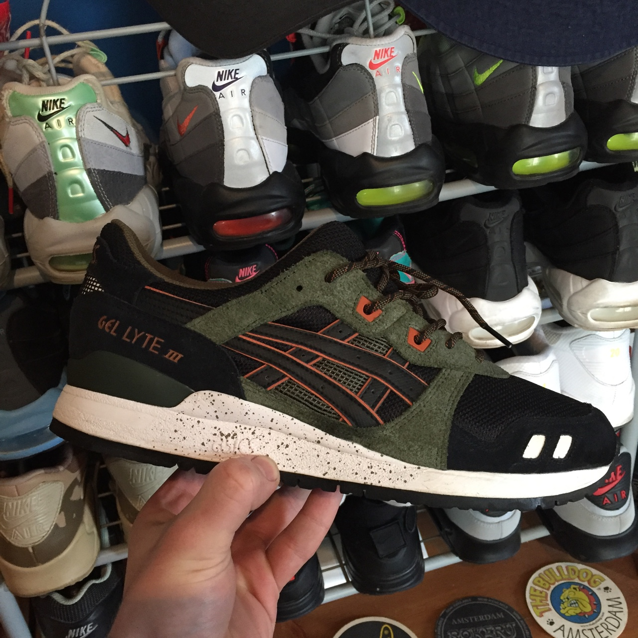 cheap for discount 6d866 01805 Asics Gel Lyte III 3 winter trail pack - used good... - Depop
