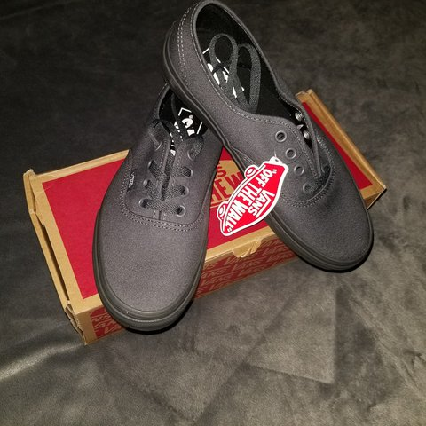 3fea77906e  trinitynormal. last year. United States. Gray Authentic low top vans. Never  worn ...