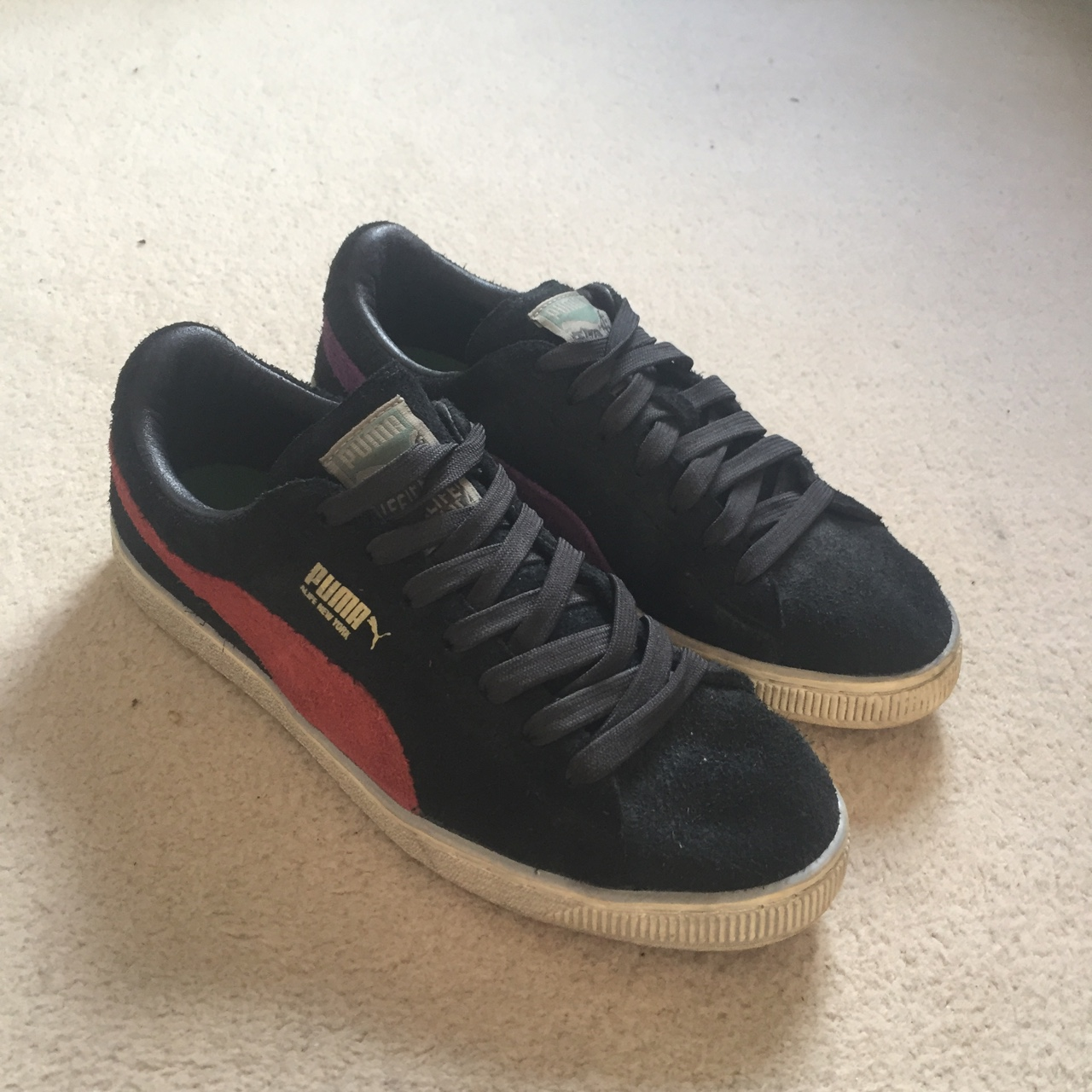 brand new 0c054 462a5 Puma x ALIFE Clyde's suede Worn three times..... - Depop
