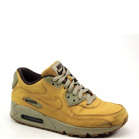 buy online ef313 fd466  emilylouisabarker. 11 months ago. Stockport, United Kingdom. Classic  Mustard Yellow Nike Air Max 90 ...