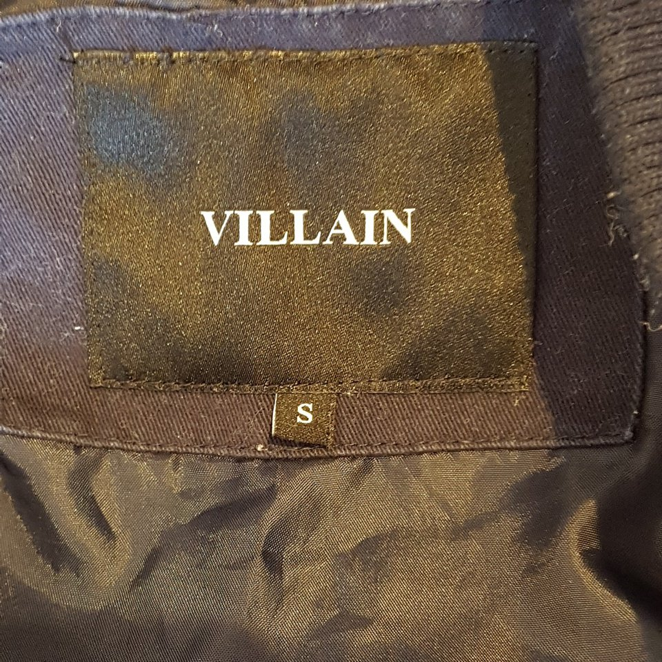 15dad1c20 Villain London bomber jacket,used but in very good... - Depop
