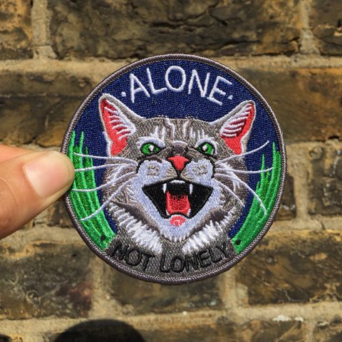 Alone not lonely patch