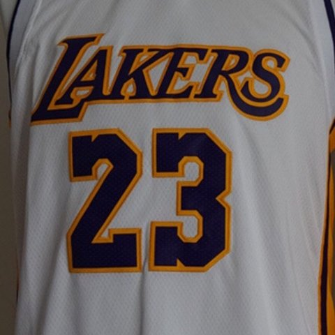 446a24825a4 LEBRON James Laker Jersey New with tags